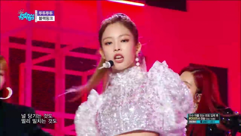 60FPS 1080P | BLACKPINK - DDu-Du DDu-Du, 블랙핑크 - 뚜두뚜두 Show Music Core 20180616