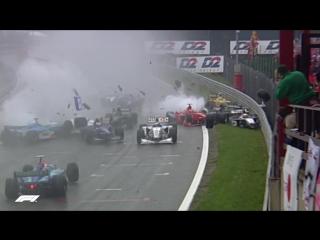 F1's Most Expensive Crash Ever...? | 1998 Belgian Grand Prix