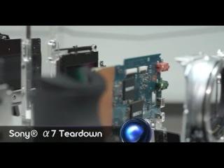 Sony's a7 Full Frame Mirrorless Camera Gets A Teardown