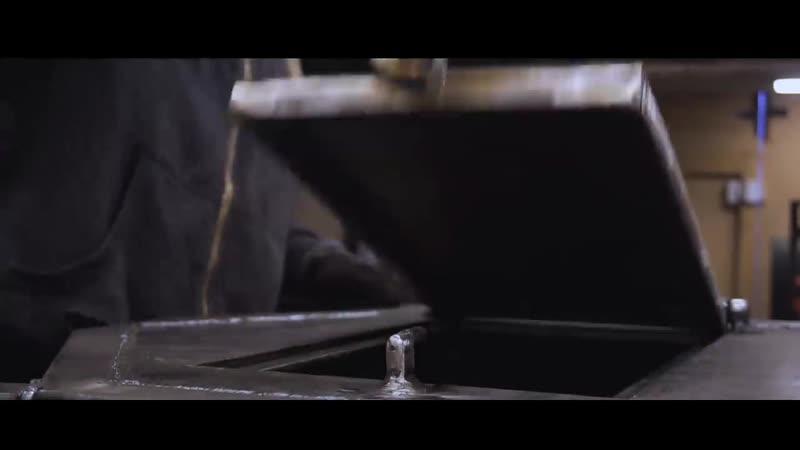СУПЕР печь из ПРОФИЛЬНОЙ трубы