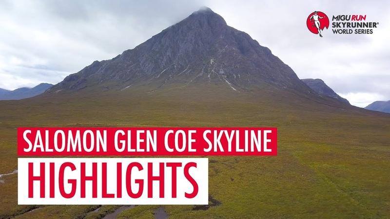 SALOMON GLEN COE SKYLINE 2018 - HIGHLIGHTS SWS18 - Skyrunning