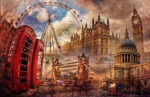 Лондон в одной картине