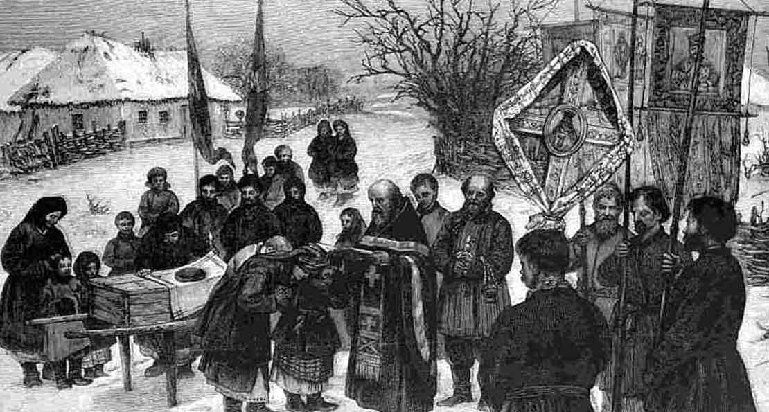 Похороны крестьянина