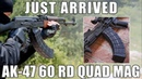 AK 47 60 Round Magazine In 7 62x39 The Mag That Will Make You Throw Away Your Drum