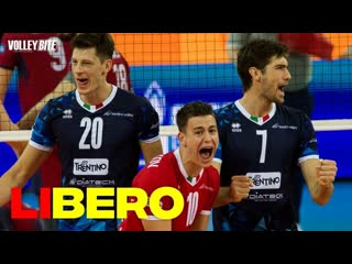 Top 20 volleyball set-up by libero