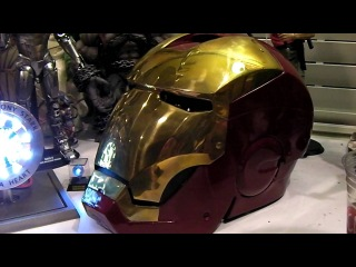 Windlass Studios IRON-MAN MOVIE ARC REACTOR CORE/HELMET Prop REPLICA!Avenger