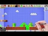 Mario Maker Trailer (Wii U)
