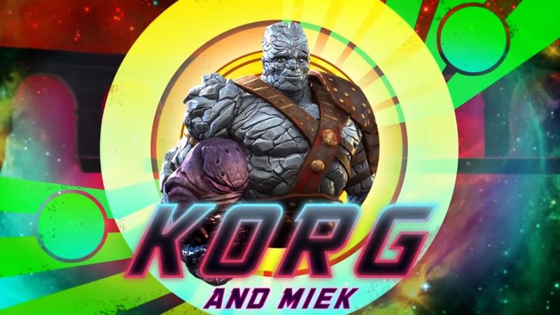 Корг и Миек - Чемпионы   Marvel Contest of Champions