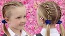Çocuklar için örgü modelleri TOP Best Braid Hairstyles for Girls ☮