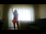 Emma Improvisation Bellydance to the song Nansy Ajram - Ehsass Geded