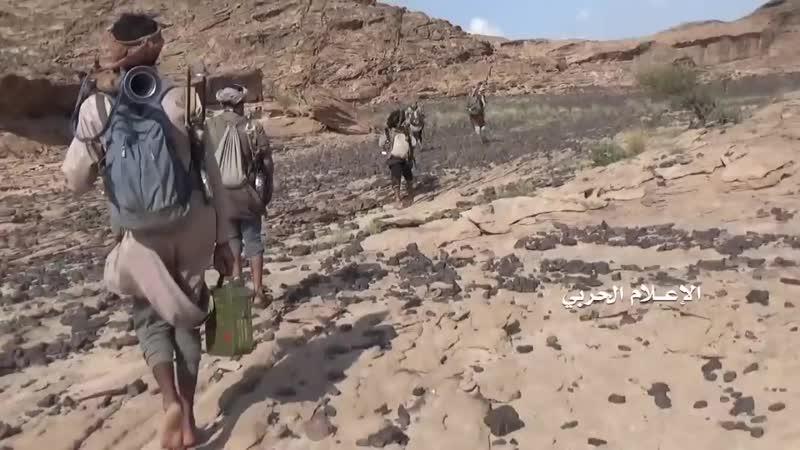 Атака хуситов на позиции саудитов в Наджране.