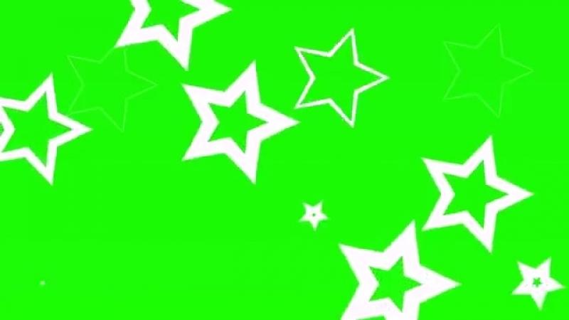 Футаж звёздочки