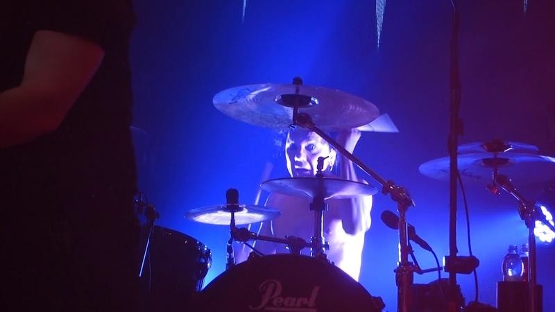 The 69 Eyes live, Jussi 69, Brandon Lee, Ms Grace Viking, 2018 11 30
