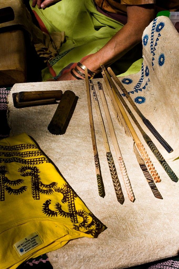 инструменты для нанесения рисунка на капа