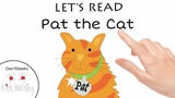 PAT THE CAT Early Reading Book Animation -AT words