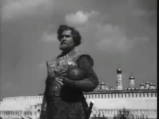 Кадр из фильма «Минин и Пожарский», режиссер В. Пудовкин