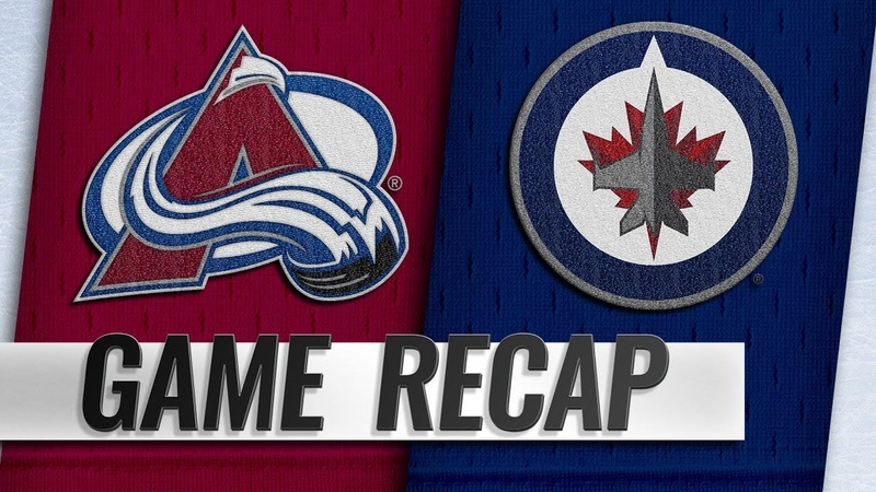 Balanced attack propels Avalanche past Jets 4 1