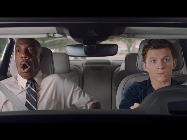 Человек-паук Возвращение домой | Audi Driver's Test - Spider-Man Homecoming | в русской озвучке