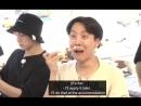 Просто посмотрите на реакцию Намджуна когда Хосок и Джин вытворяли какую то дичь с солнце mp4