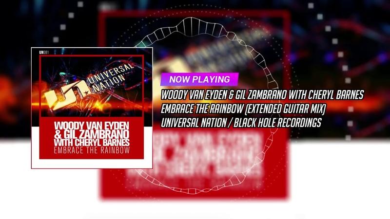 Woody van Eyden Gil Zambrano with Cheryl Barnes Embrace the Rainbow Extended Guitar Mix