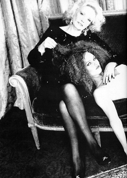 Жанна Моро и Ванесса Паради Фото: Эллен фон Унверт, 1995