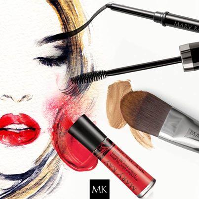Выразительный макияж с использованиемматовых теней