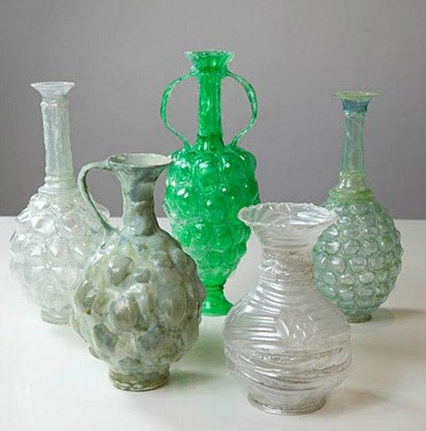 Амфора из пластиковой бутылки