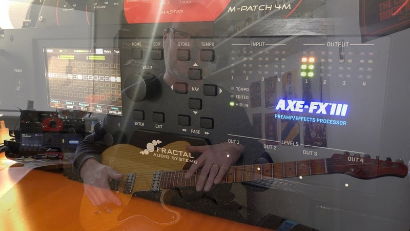 Axe-FX III: A quick build-your-own Dover-style preset.