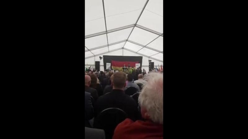 Mitreißende Rede von Björn Höcke AfD auf dem Kyffhäusertreffen 2018 23 06