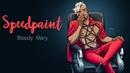Speedpaint Bloody Mary | Спидпейнт Кровавая Мэри