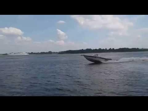 Crestliner sport fish 1650 с водометным движителем ANP-200-1