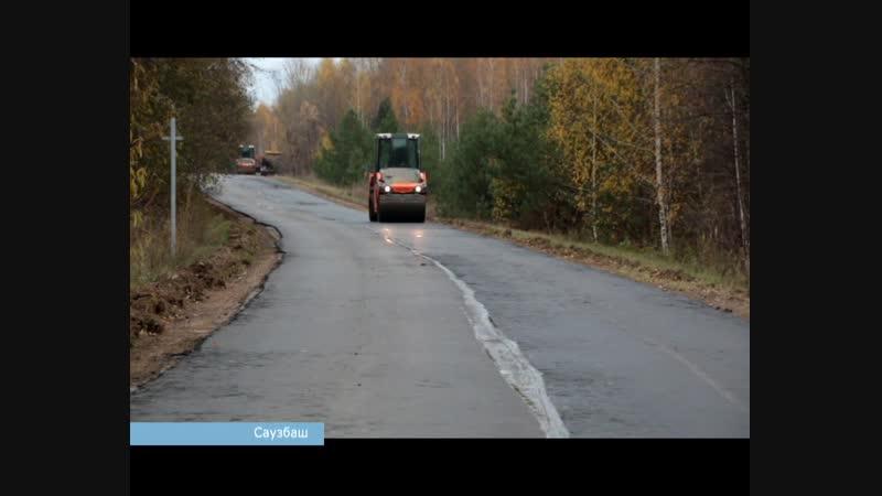 В Краснокамском районе отремонтировали 18 км дорог на средства благотворителей