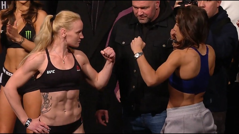 Valentina Shevchenko vs. Joanna Jędrzejczyk - Weigh-in Face-Off - (UFC 231) - /r/WMMA