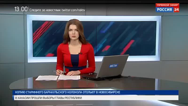Пассажирский автобус перевернулся на трассе в Коченёвском районе
