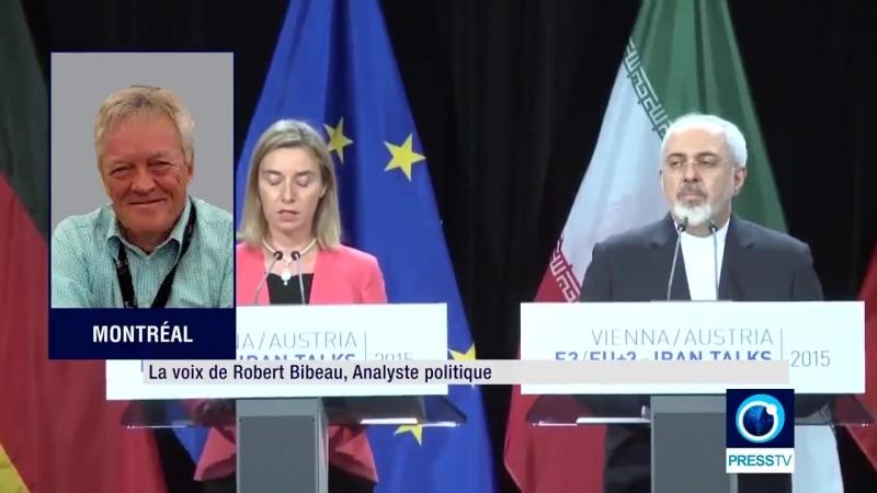 Robert Bibeau Les objectifs du Bluff de Trump avec lIran (2min30s).