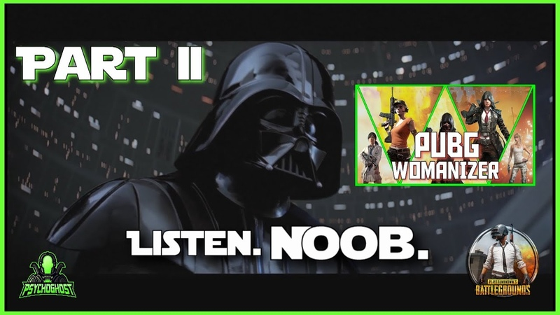 PUBG WOMANIZER   Special guest: Darth Vader - do not kill female characters! [PUBG Strat Roulette]