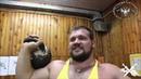 True gym 11 - Tsar kettlebell press: Koklyaev, Sarychev, Malanichev