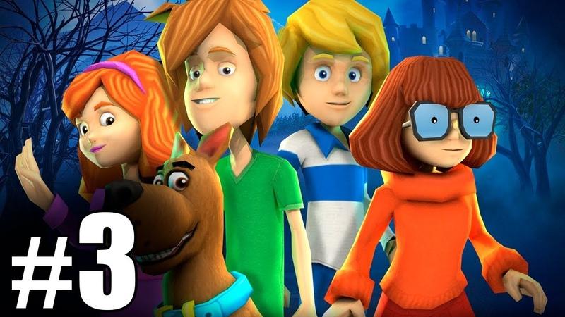 3 Обзор и летсплей по игре Скуби Ду Зловещий замок Letsplay game Scooby Doo First Frights