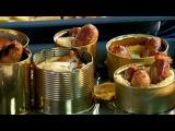 Два с половиной повара. Открытая кухня. Выпуск 7. Мужской день: севиче из форели и традиционное английское блюдо жаба в норке, а на гарнир - домашний картофель по-деревенски.