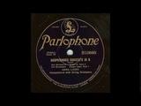 Иоганн Себастьян Бах - Концерт для клавесина и струнных N7 Соль-минор BWV 1058 - Анна Линде, запись 1928