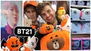 BTS x HALLOWEEN 🎃Checking out Limited Edition BT21 Merch 😍