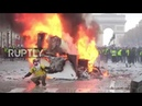 France Chaos in Paris as anti fuel tax protest turns violent