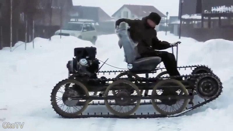 Умельцы самоделкины. Самые необычные самодельные транспортные средства