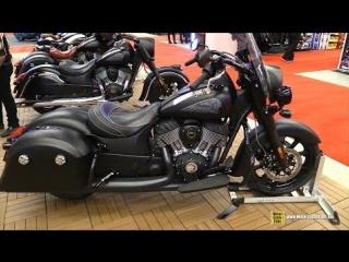 2018 indian springfield dark horse - walkaround - 2018 montreal motorcycle show