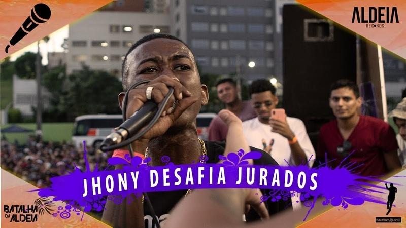 JHONY DESAFIA OS JURADOS DA ALDEIA   INTERESTADUAL ll   Barueri   SP