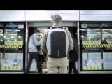 Рюкзак Bobby с защитой от вскрытия и интерфейсом для зарядки гаджетов
