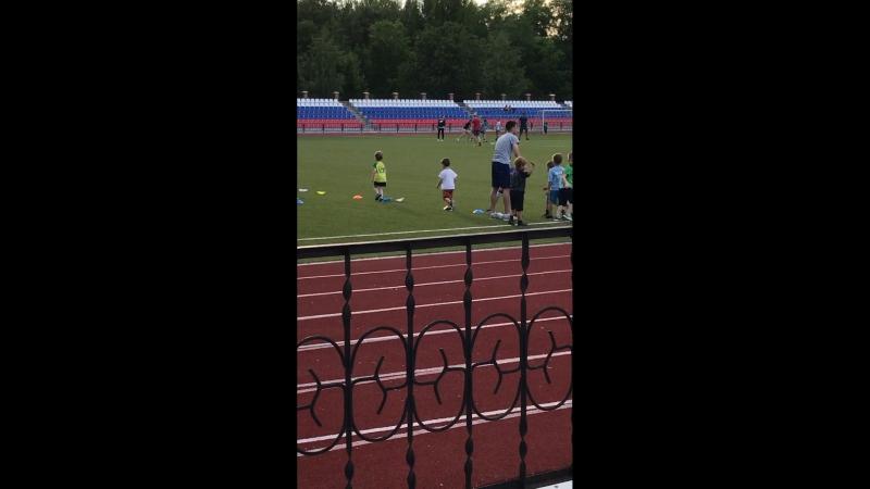 Наша тренировка 🏋️♂️ по футболу