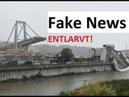 Fake News zum Einsturz der Morandi Brücke entlarvt! Neue Videos aus Genova - Die Lüge der Medien!