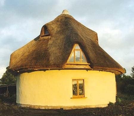 Экологическое строительство и соломенные дома.