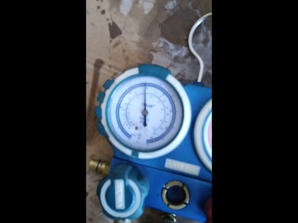 Ремонт компрессора холодильника - сварка корпуса